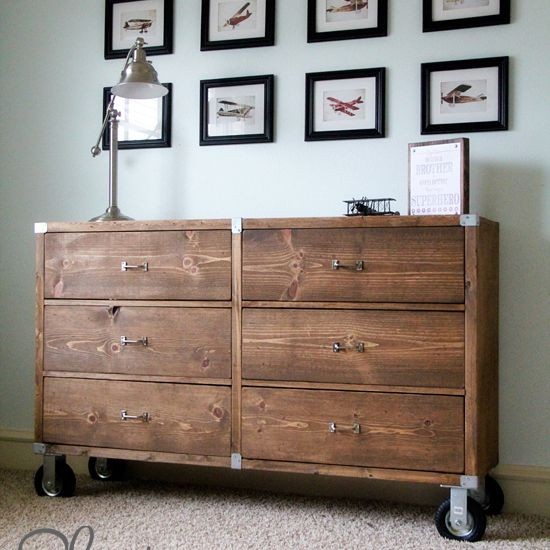 16 Free Diy Dresser Plans You Can Build