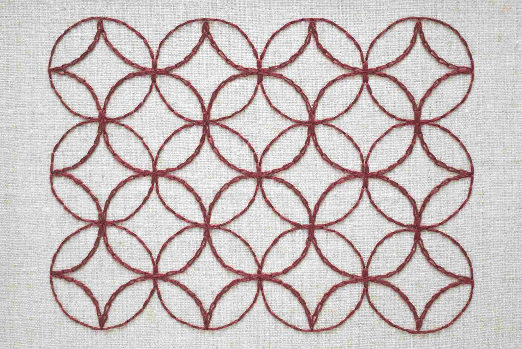 Sashiko Patterns New Design