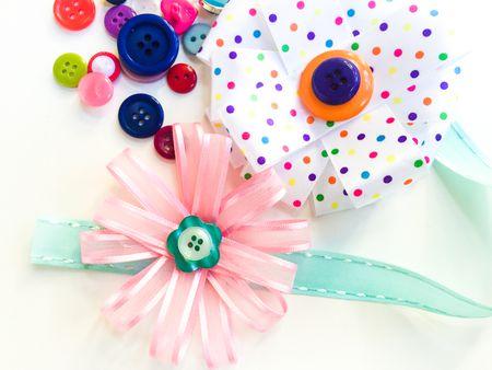How to make ribbon flowers mightylinksfo