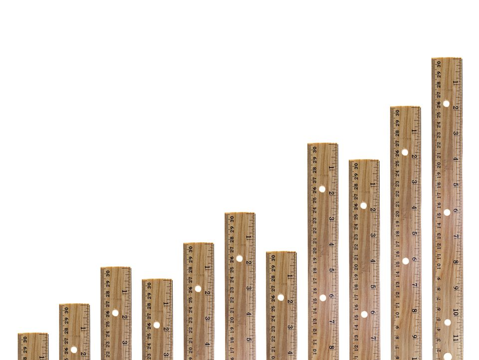 Wooden ruler graph