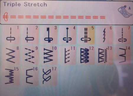Sewing Machine Stitches When To Use Which Stitch Awesome Stretch Stitch Sewing Machine