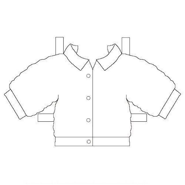 Printable Paper Doll Jacket