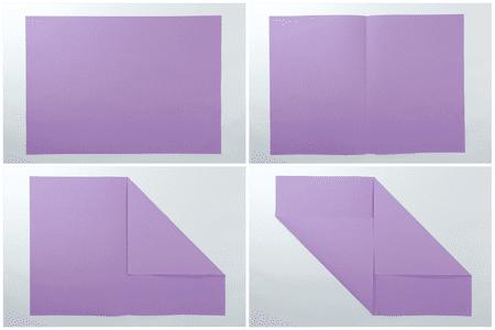 Easy Origami Letter Fold 2