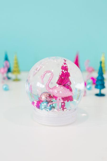 how to make a diy snow globe