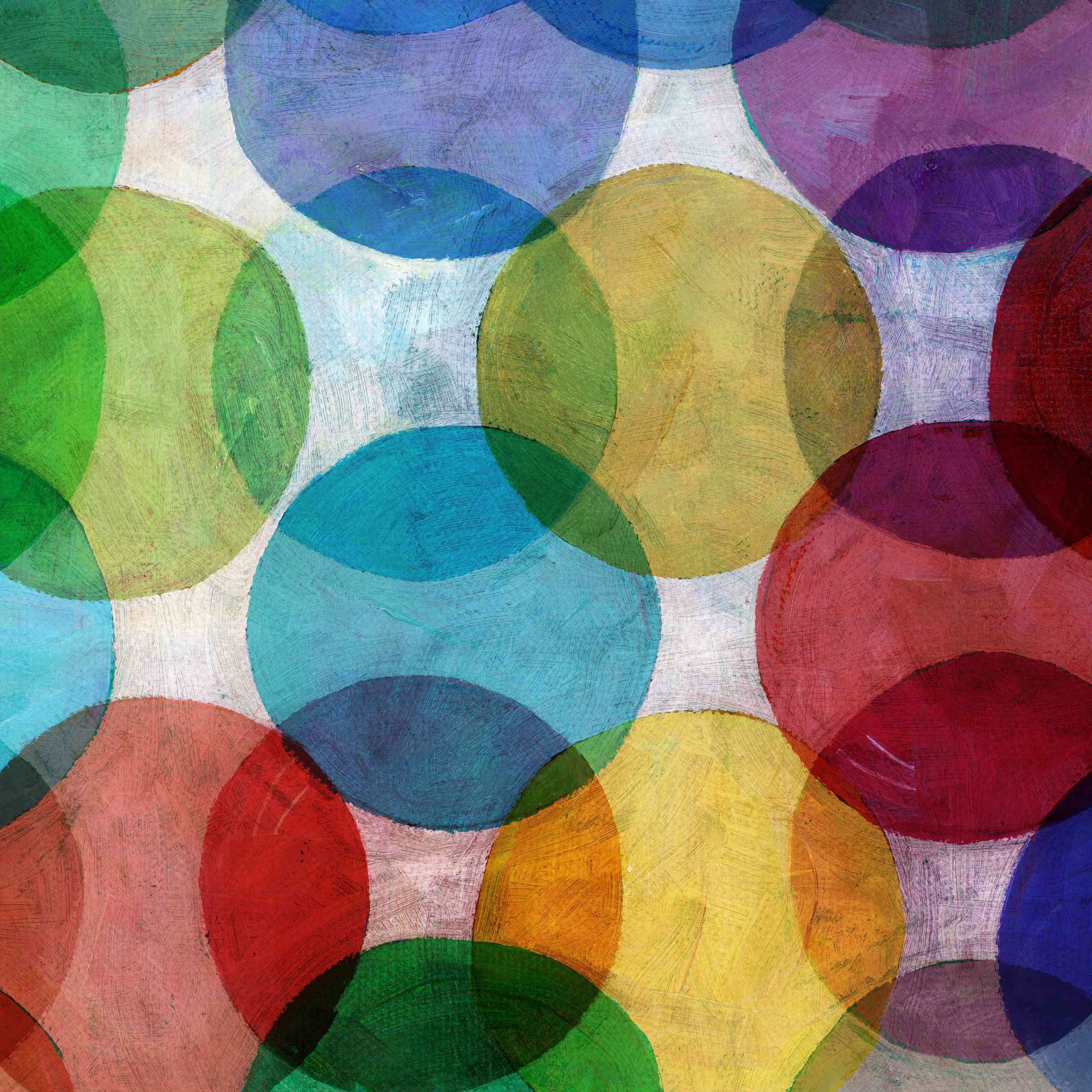 Overlapping Circle Pattern