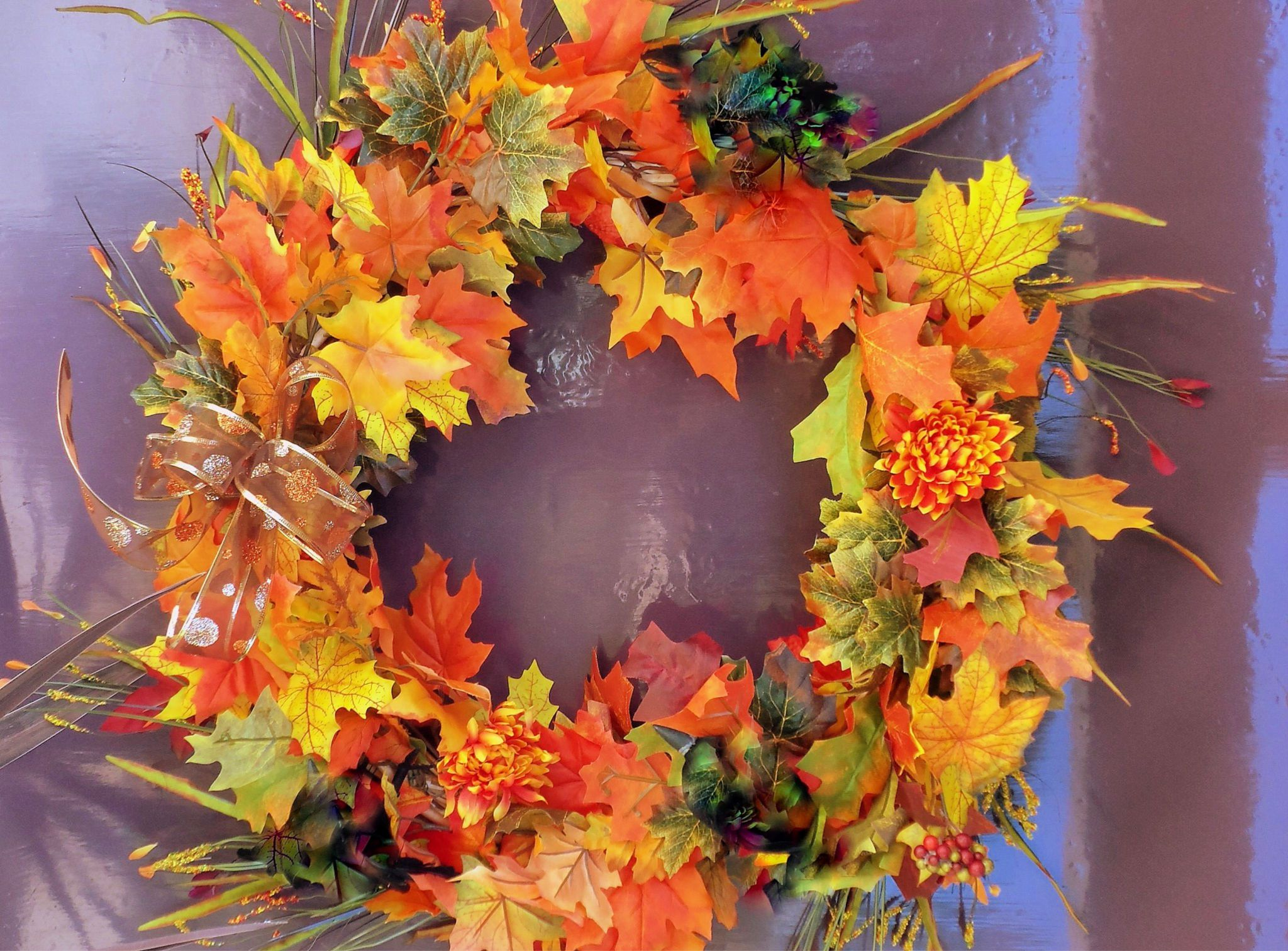 How To Make An Easy And Festive Fall Wreath