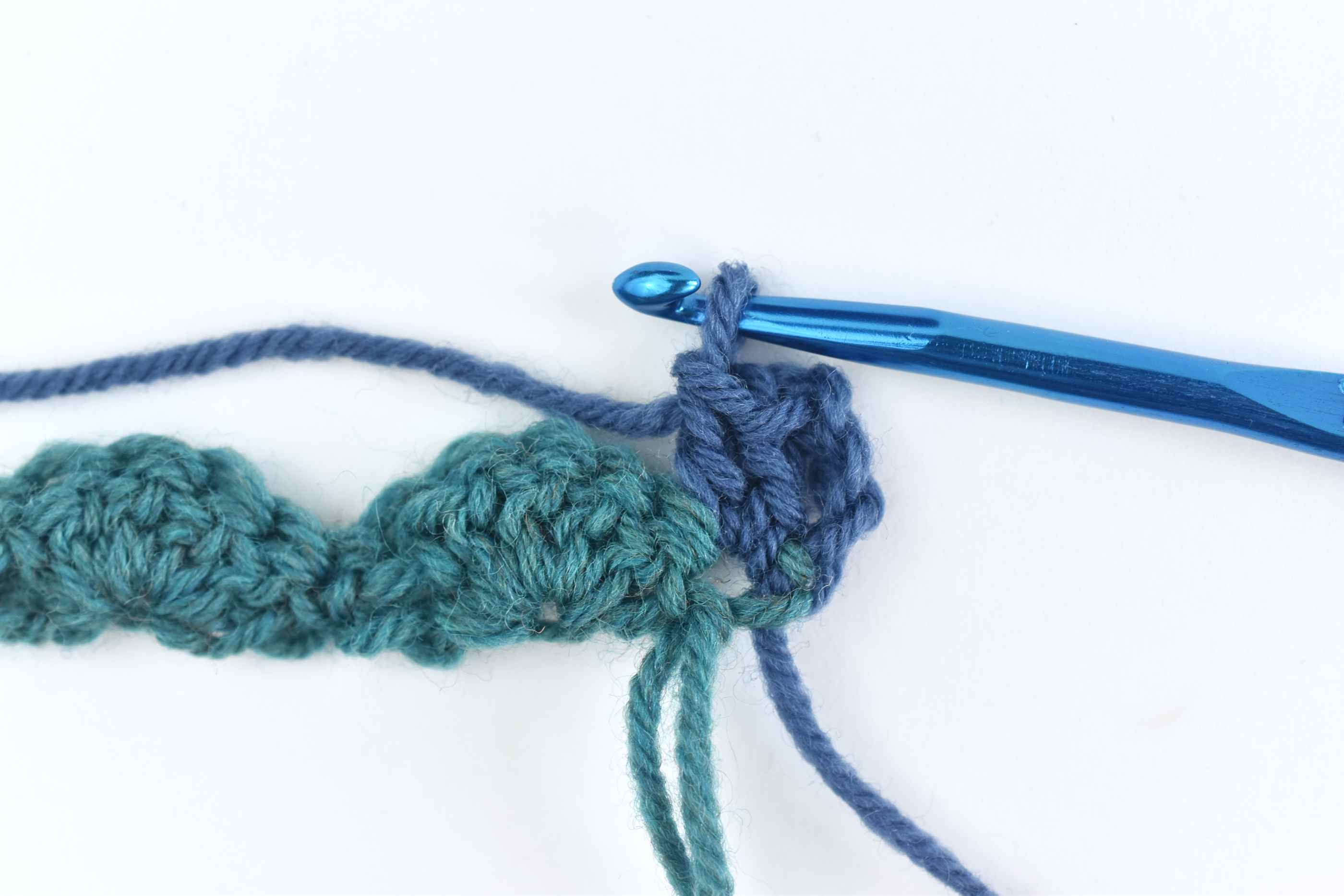 Make Two Double Crochets Into the Same Chain