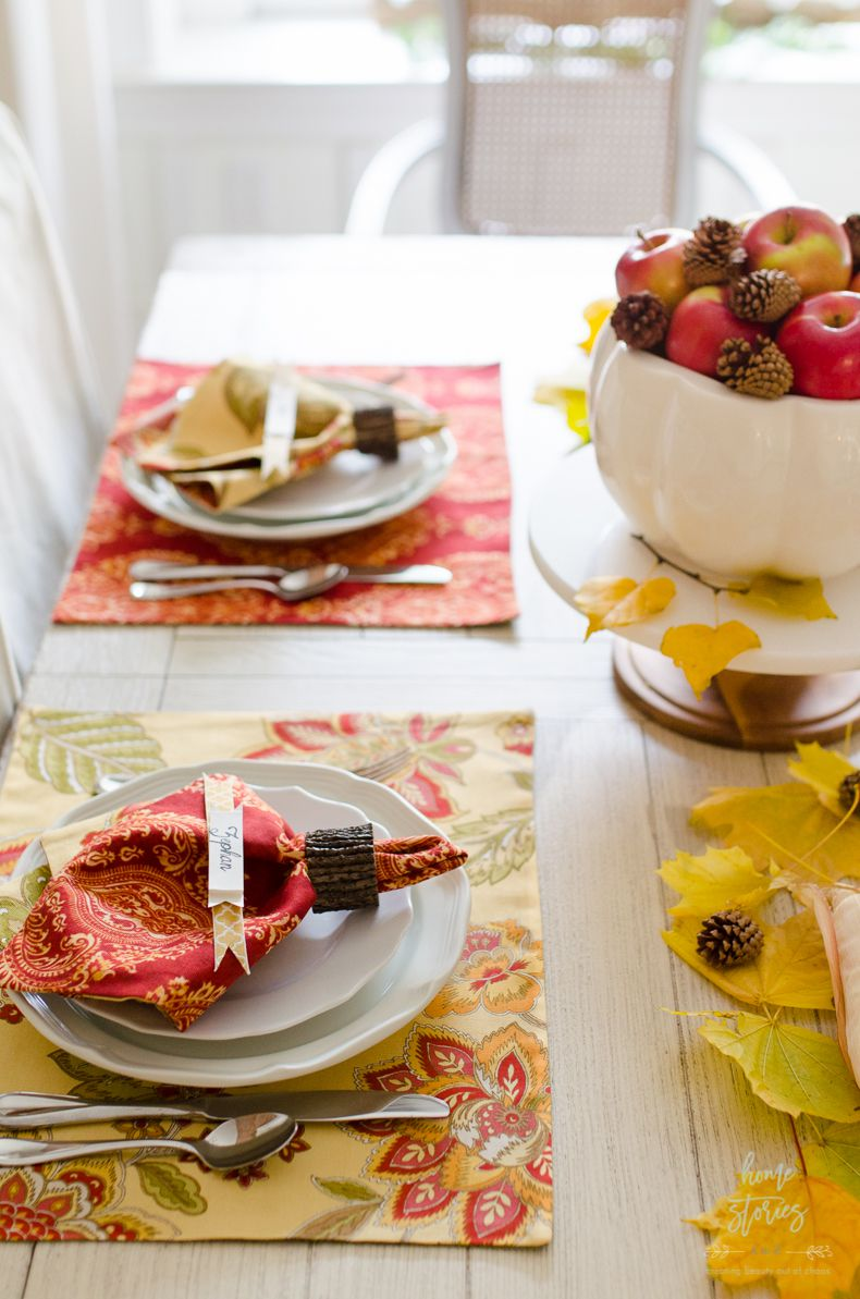 how to make reversible placemats