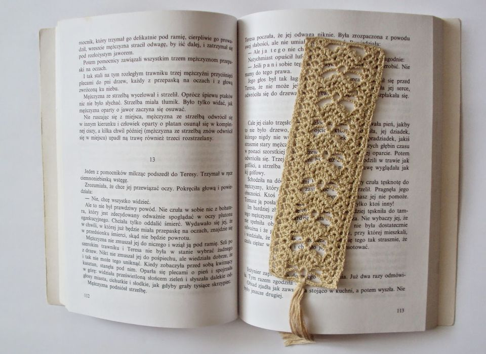 Easy Crochet Bookmark Patterns Free Image Collections Knitting