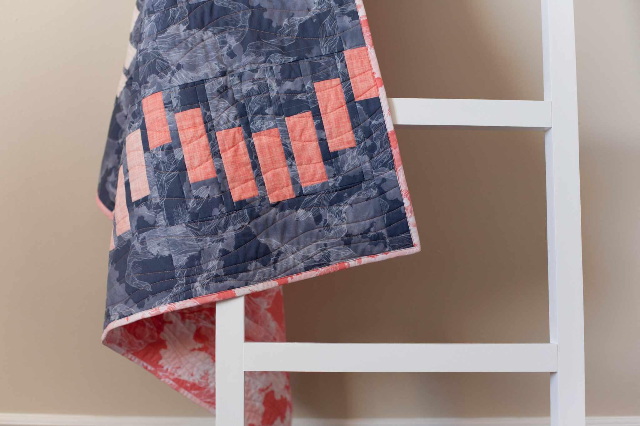 Striped Scallops Quilt Pattern