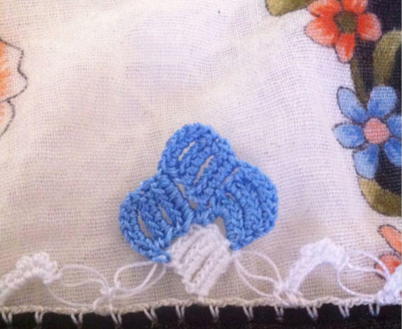 Turkish crochet edging