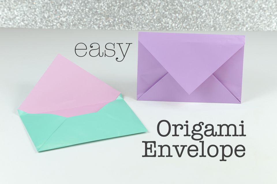 Finished Origami Envelope
