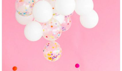 Confetti Balloon Chandelier