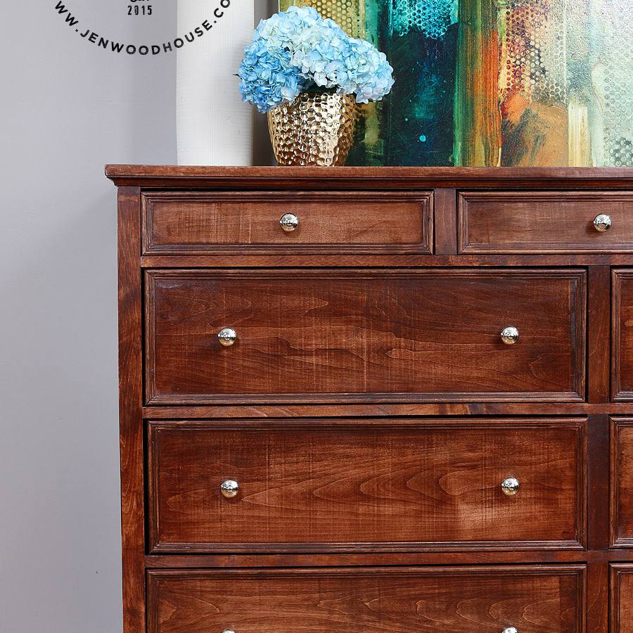 A DIY 11-drawer dresser