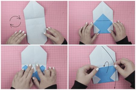 Diy Origami Wallet Photo Tutorial