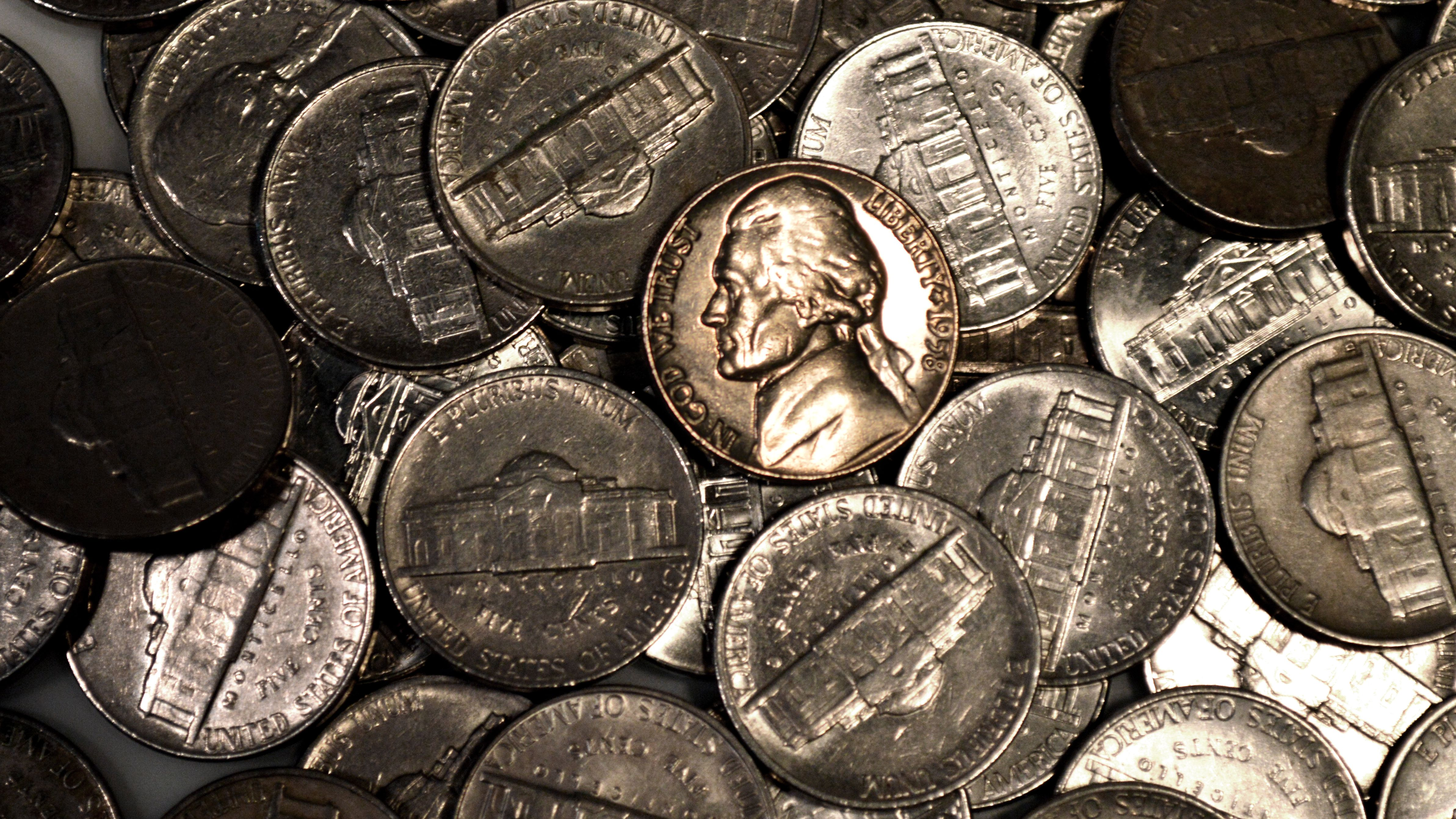 1961-P BU   Jefferson Nickel    /'
