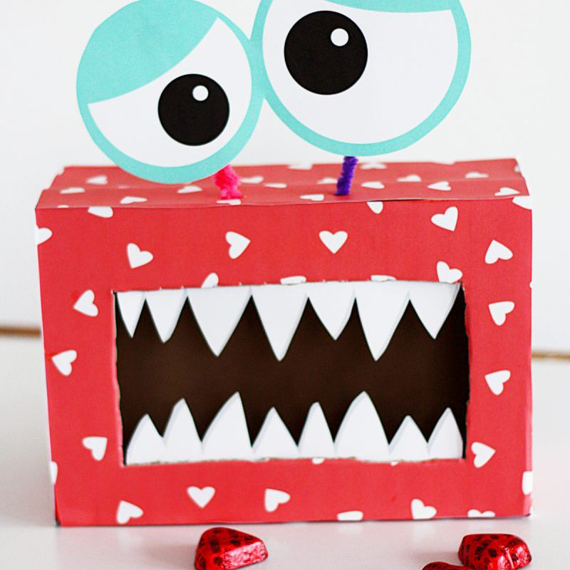 15 Valentine Boxes to Make With Kids