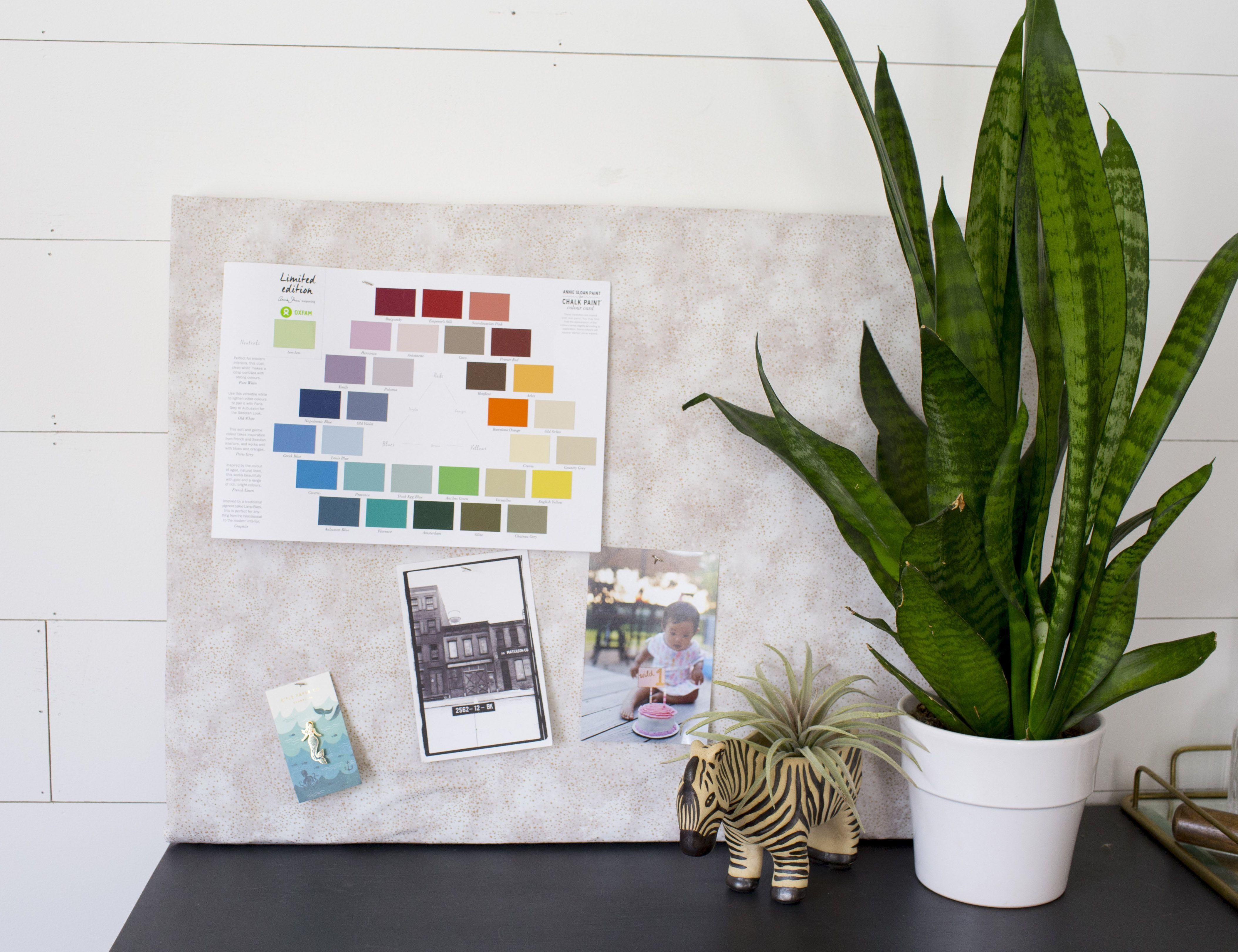 Make Your Own Stylish DIY Bulletin Board