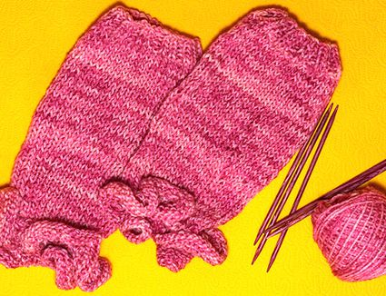 How To Knit Socks With Two Circular Needles
