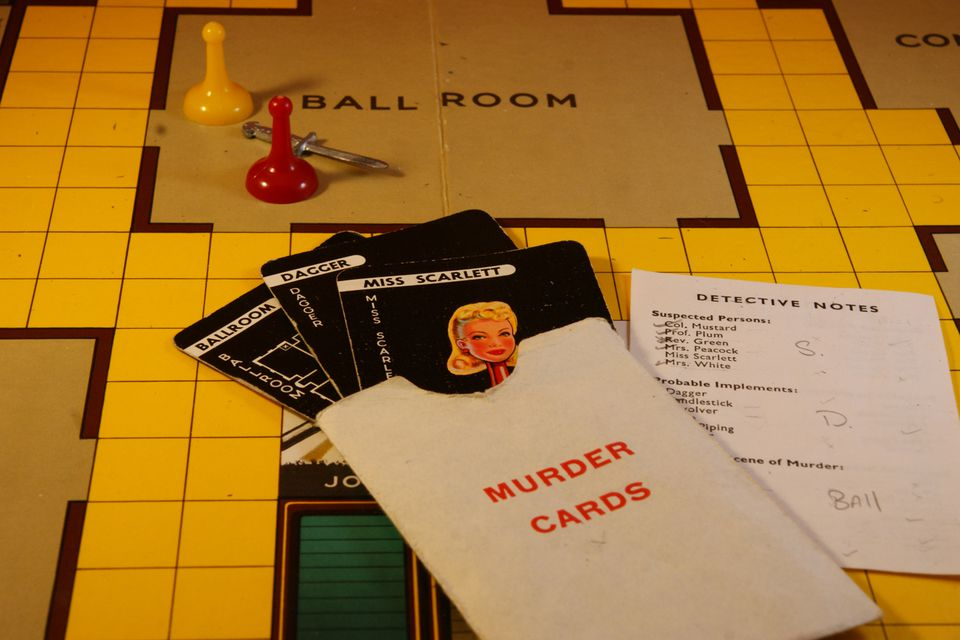 Cluedo using the power of deduction to discover the murderer