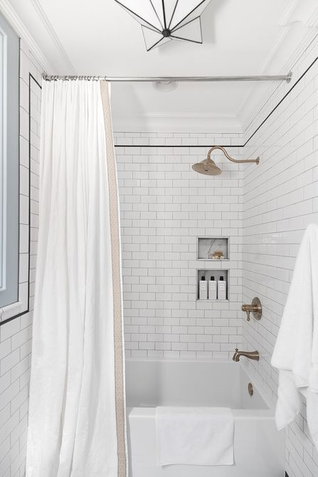 diy shower curtain how to