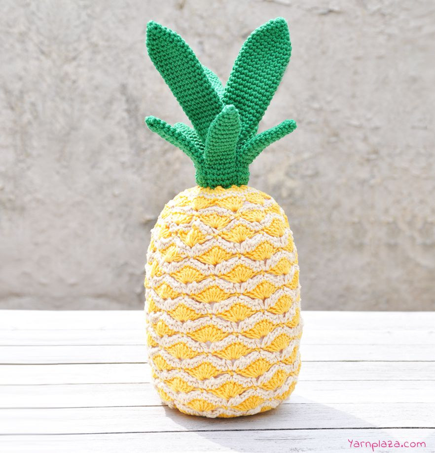 Stand-Up Pineapple Crochet Pattern