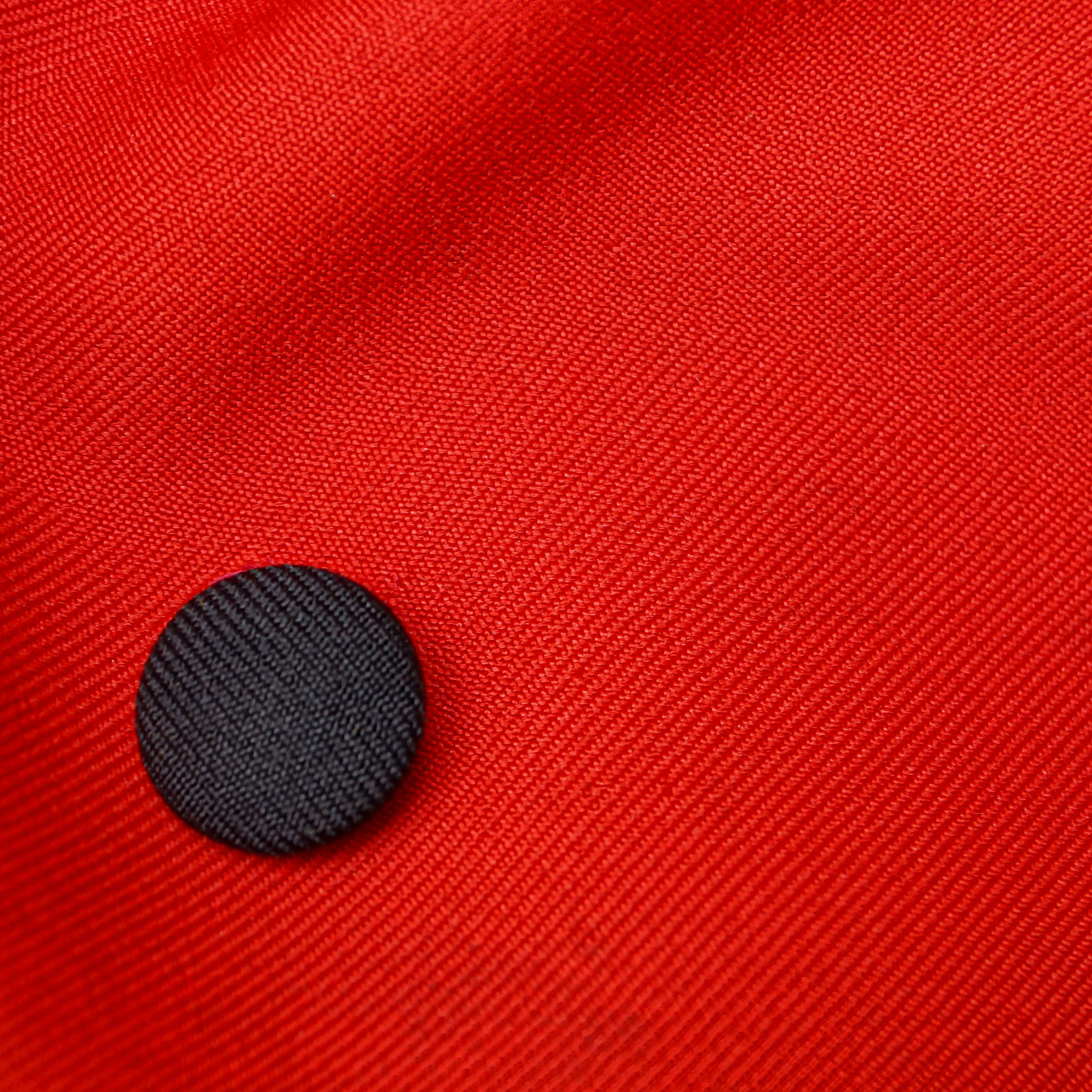 Ceramic Buttons Textured red and black Buttons Round Buttons