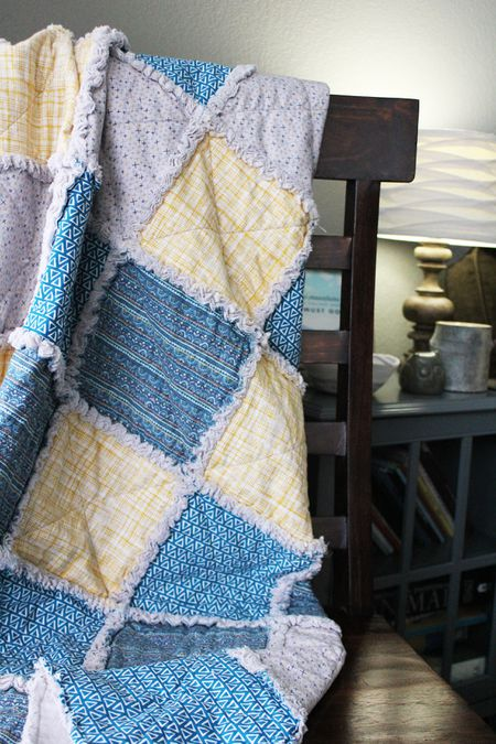 How to Make a Rag Quilt From Start to Finish