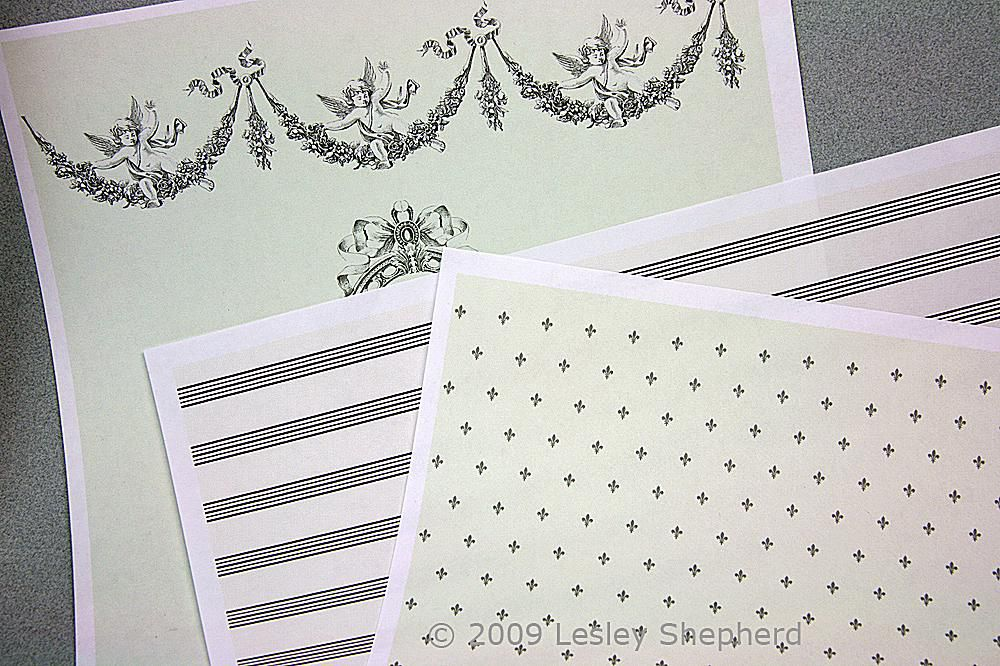 Printable Dolls House Wallpaper And Fabric Designs
