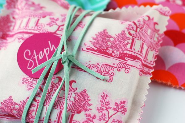 New-sew gift packaging