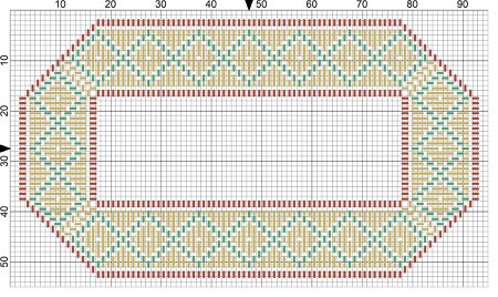 get this free personal name tag needlepoint pattern
