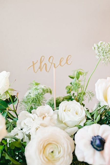 Table Numbers Wedding.20 Diy Table Numbers And Holders For Weddings