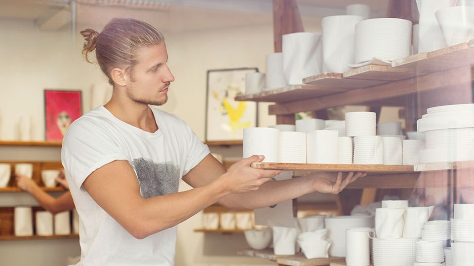 The difference between ceramics and pottery