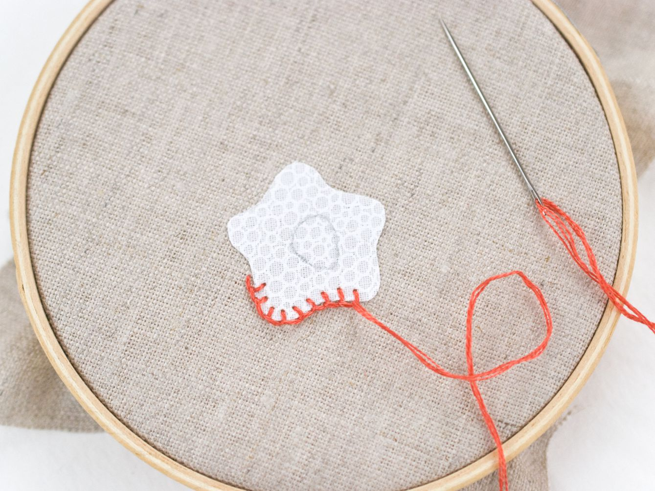 How To Work Blanket Stitch In Surface Embroidery