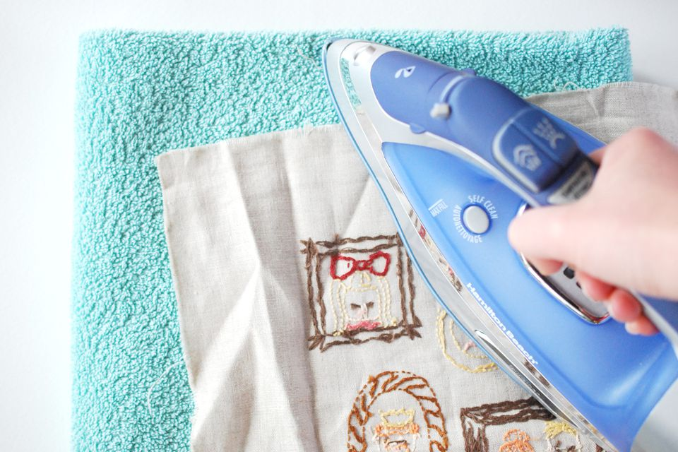 Ironing Embroidery