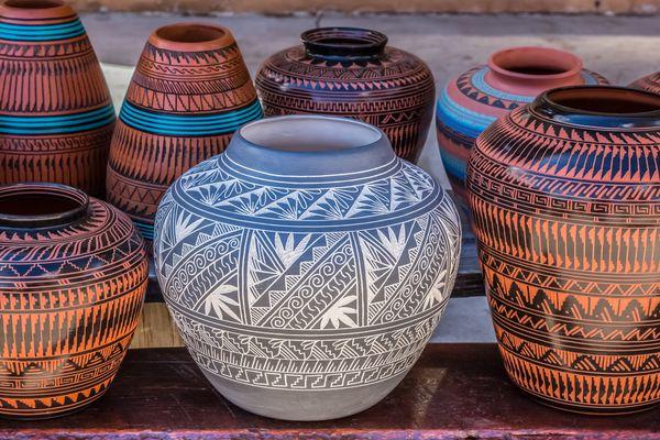 Native american pottery