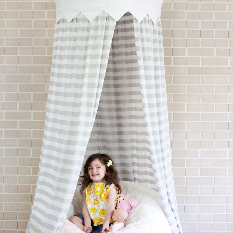 DIY Hula Hoop Tent