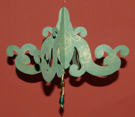 How To Make A Paper Chandelier Decoration