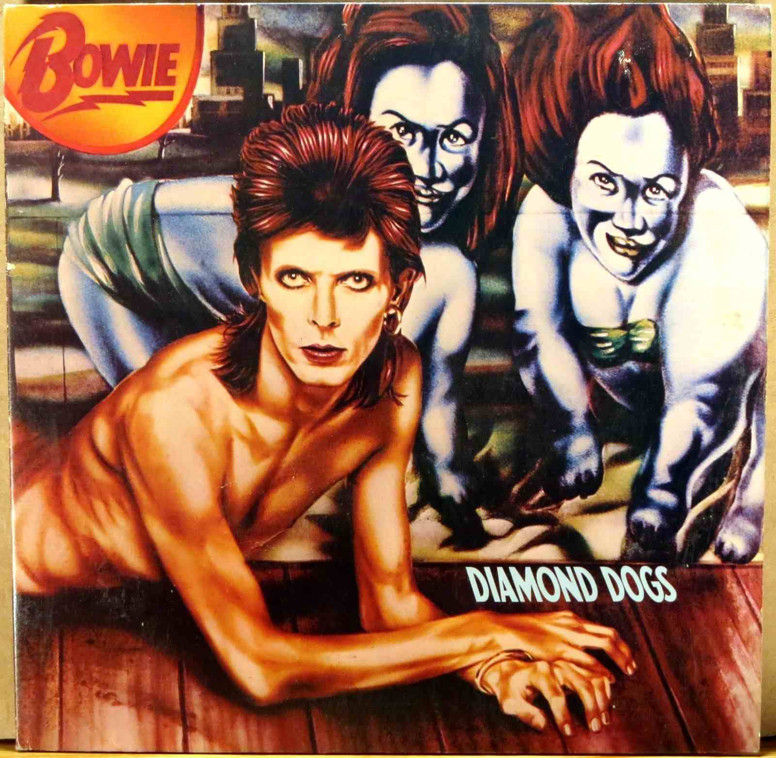 Diamond Dogs by David Bowie Album Cover