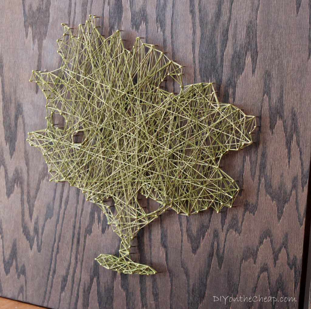 Tree String Art