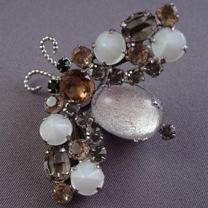 Circa: 1950s Schreiner Trembler Bug Pin