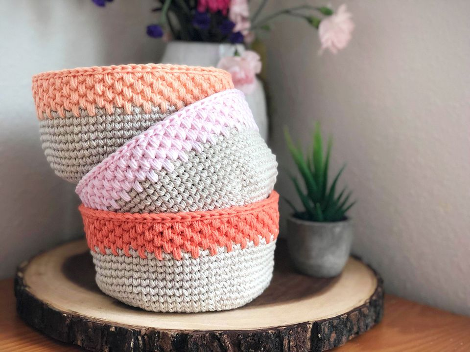 Storage Basket Crochet Pattern