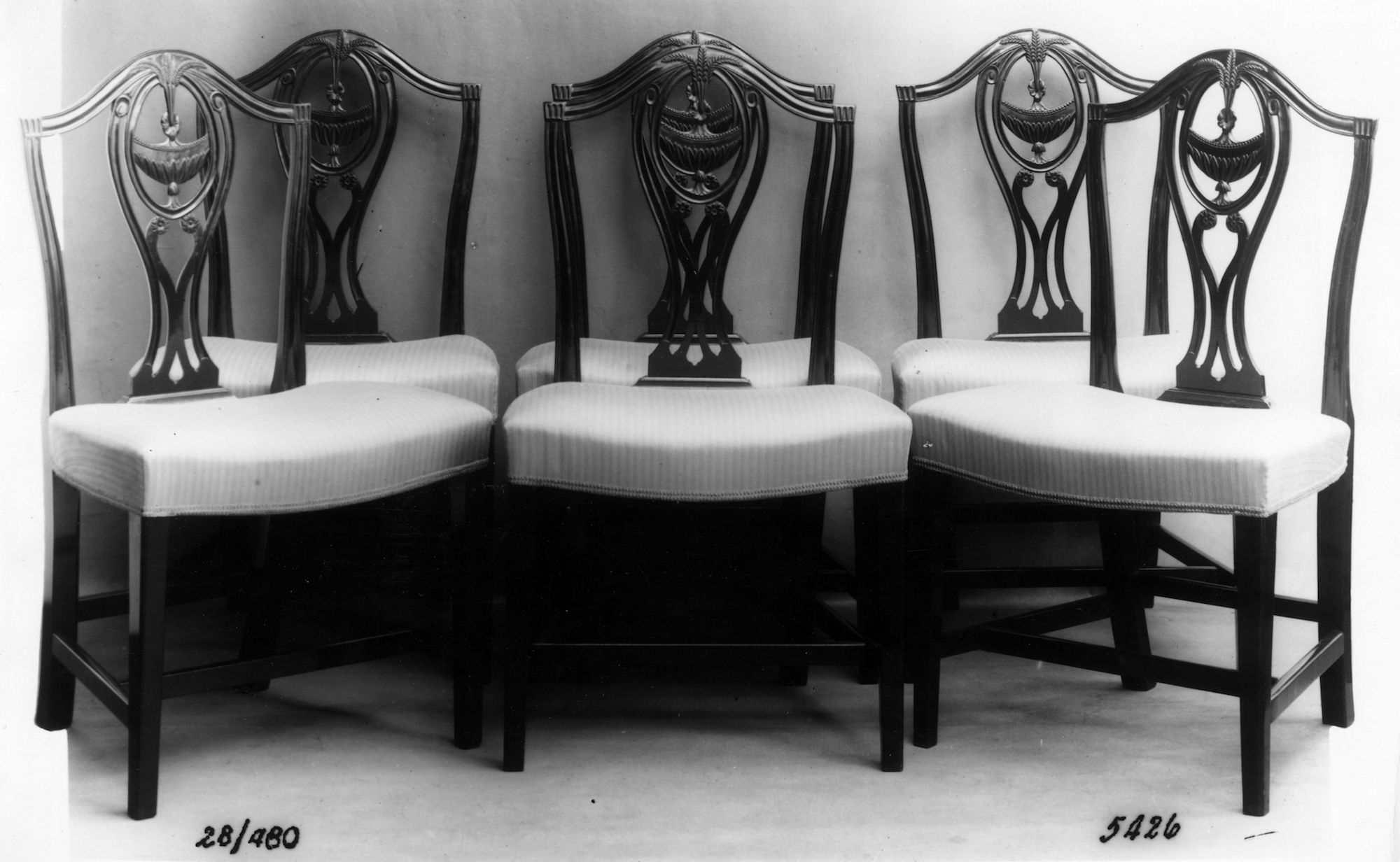 Hepplewhite style chairs