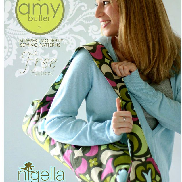 Amy Butler Yoga Bag Pattern Page
