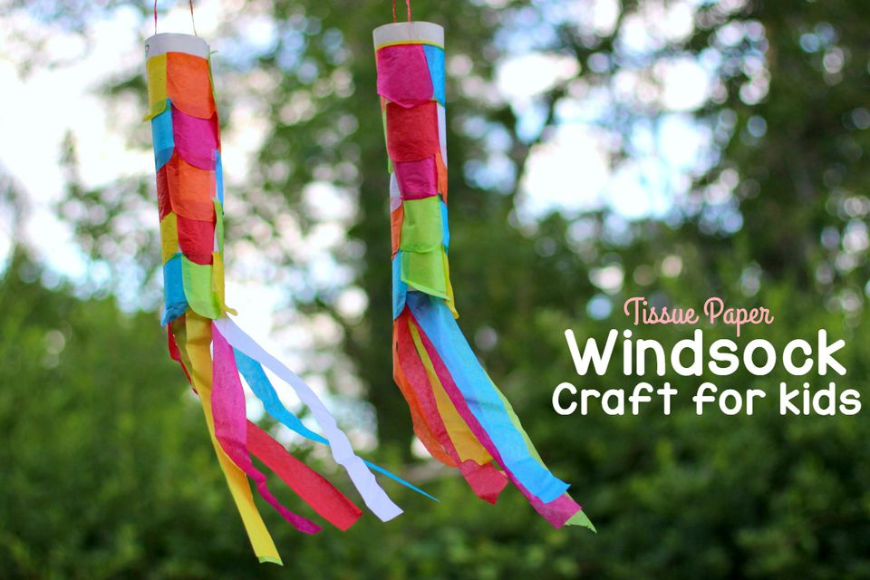 Tissue Paper Windsock