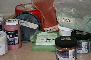 Always label pottery materials