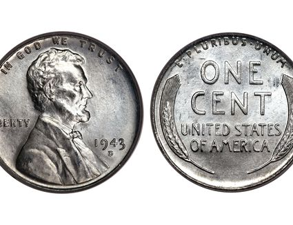 1943 Steel Lincoln Penny