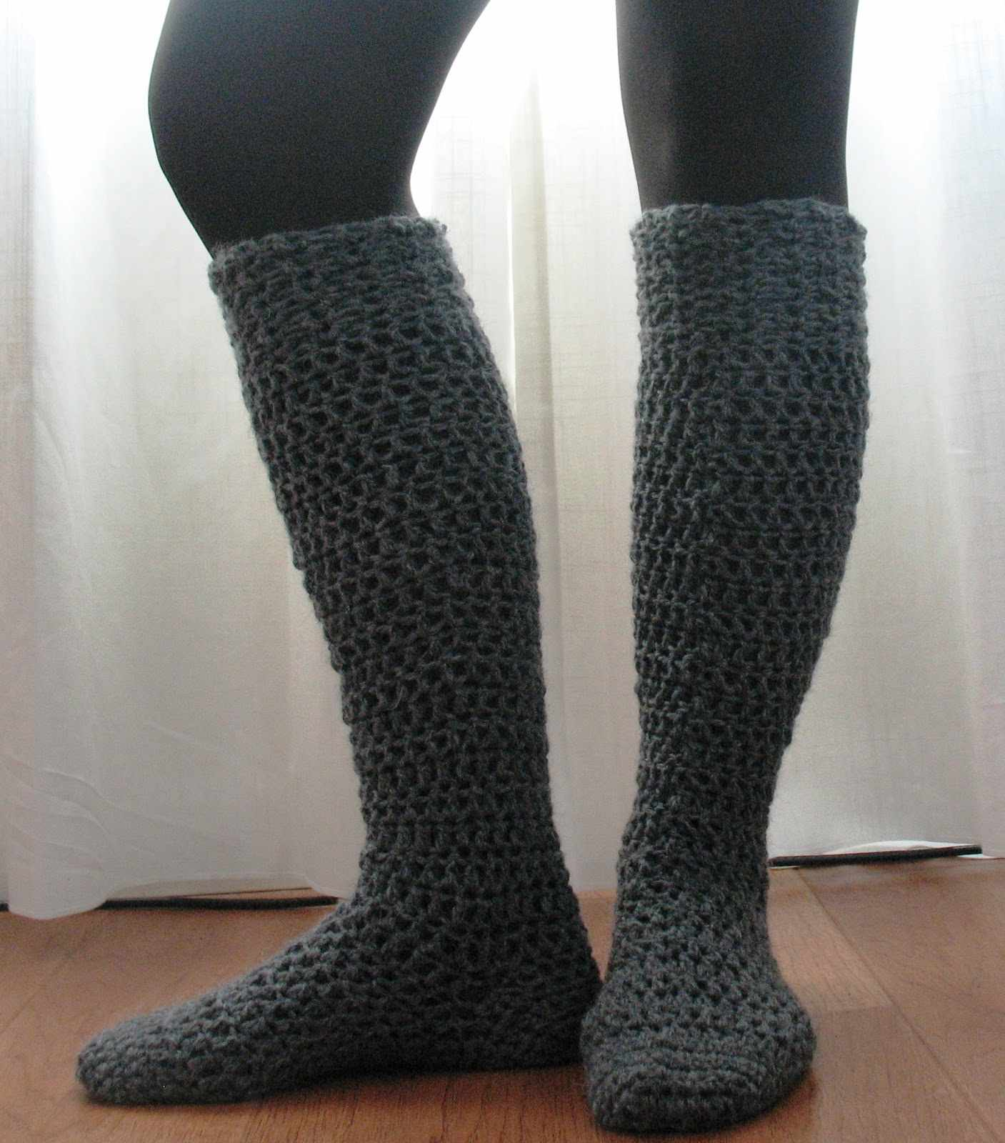 10+ Crochet Sock Patterns