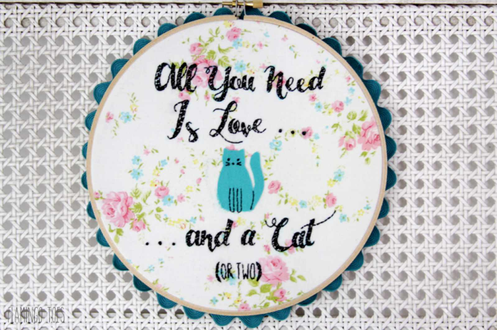 All You Need is Love and a Cat Pattern