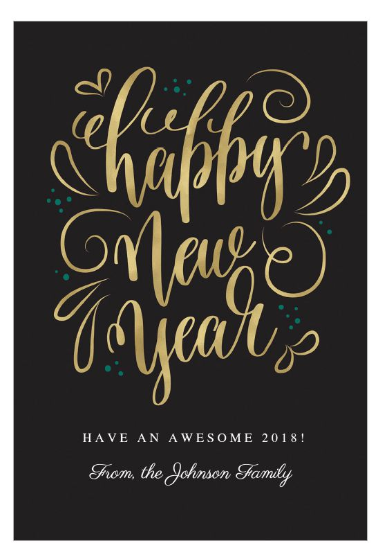 6 free printable new year cards for friends and family